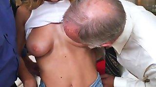 Nympho twerks on cock Molly Earns Her Keep