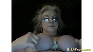Lusty blonde MILF is addicted to big black dongs