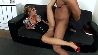 German Secretary Jennifer Love Loves To Fuck Anal
