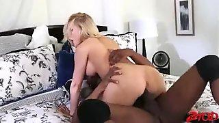 Big Tits Blonde Enjoy Bbc