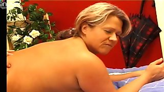 Unfaithful ugly wife Femke C gets her mature cunt polished doggy and mish