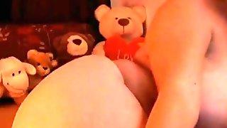 Damn sexy mature blonde on web cam