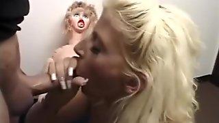 Horny pornstar Sara Jay in incredible cumshots, blonde porn movie