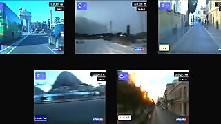 Dashcam videos through Spain, Russia, Italy, Switzerland and Cuba